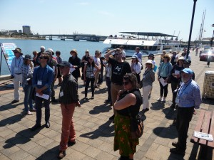 Day 2 FIELD TRIP Port Adelaide on wharf