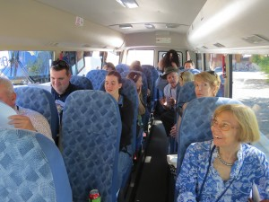 Day2 Field Trip AdelHills bus