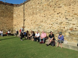 Day2 BREAKFAST Fabric breakfast, Old Adelaide Gaol Nov2015 (3)
