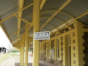 PostConTour Burra Railway Platform