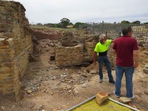PostConTour Kapunda mine ruins2